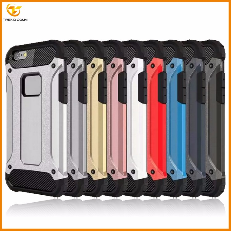 alibaba express shockproof combo armor plastic case for iphone 7