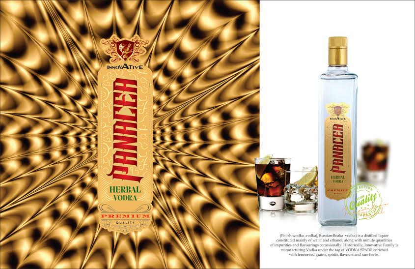 PANACEA HERBAL VODKA