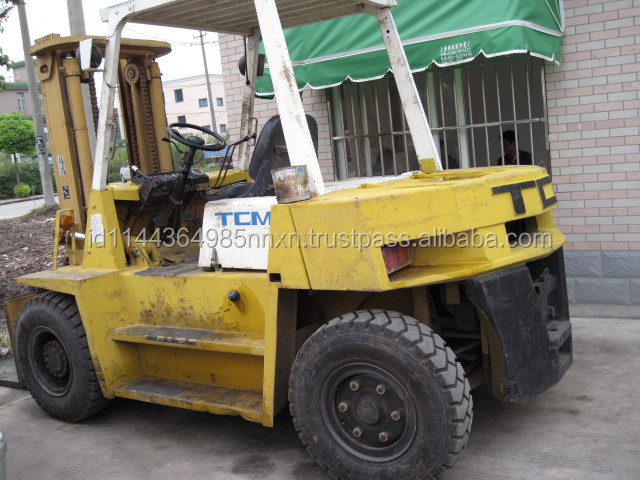 used TCM forklift 5T Japanese forkman 5 tons truck hot sale good performance in Shanghai