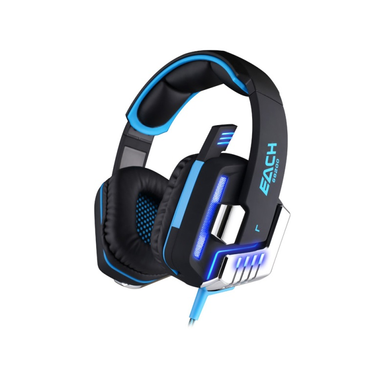 Professional 7.1 Surround Sound USB Game Earphone with Mic LED Light,cool gaming headphone Wholesale headphone gaming