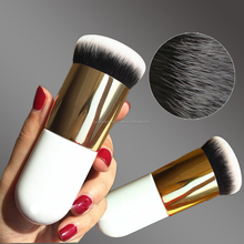 New Chubby Pier Foundation Brush Flat Cream blush Makeup Brushes for Contour Make Up Tools Shadow