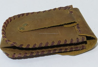 Handmade Leather Case for mobile and camera Genuine leather pouch