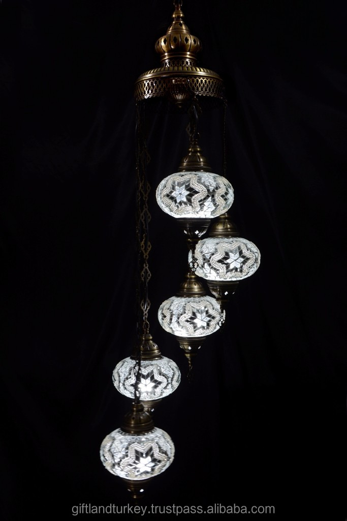 Turkish Ottomans Mosaic Lamp Hand-Made