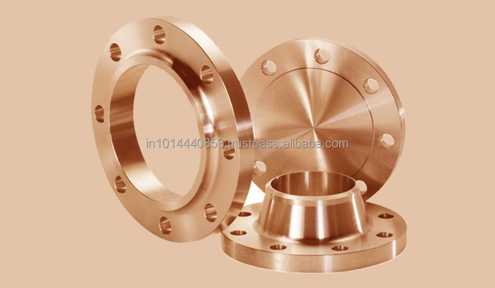 DIN EN 1092-1 Copper Nickel Weld Neck Flange C70600 C71500 Supplier Dubai UAE Saudi Arabia
