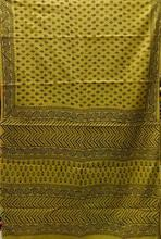 Color Combination SANGANER Cotton Saree