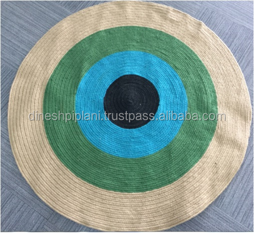 wholesale braided rugs indian jute rugs for living room manufacturer