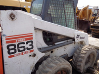 Used Skid Steer Loader 863 Used Bobcat USA Origin, Used Bobcat Skid Steer Loader 863