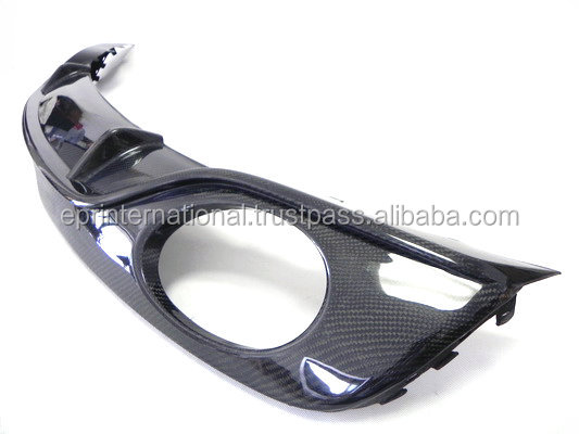 For Audi TT MK2 Type 8J Carbon Fiber Type O Rear Diffuser