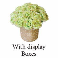 Elegant customizable marigold wholesale artificial flowers for gift and wedding