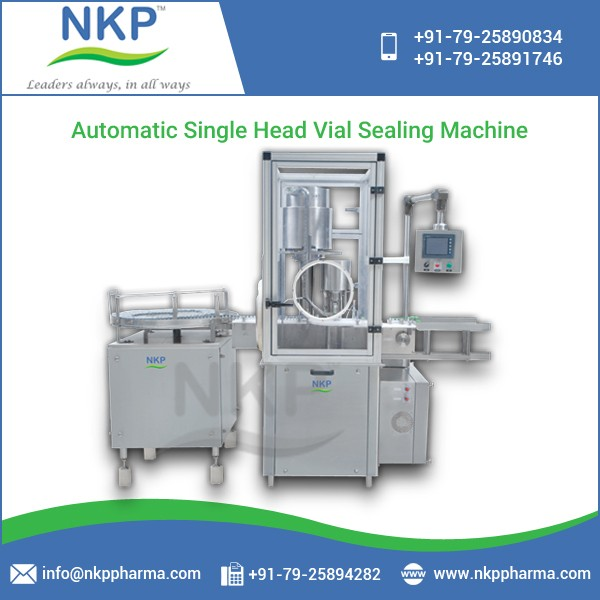2017 Top selling High Operational Speed Automatic Vial Sealing Machine at Best Price