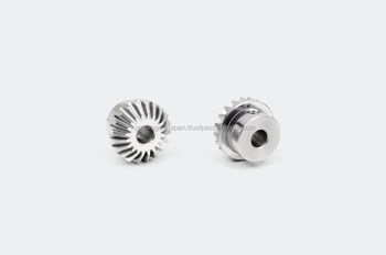 Miniature miter gear module 0.8 Stainless steel Ratio 1 Made in Japan KG STOCK GEARS
