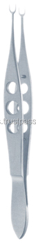 GM FORCEPS Bores Corneoscleral Fixation Forceps U-Shaped Micro Ophthalmic Instrument Eye surgical instruments