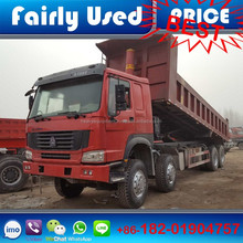 Used Sinotruk HOWO 8x4 dump truck, 12 wheels Howo dump truck for sale