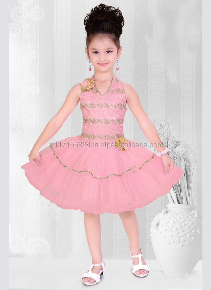 Fancy dresses for baby girl-frock design for baby girl net bulk wholesale clothing party dress