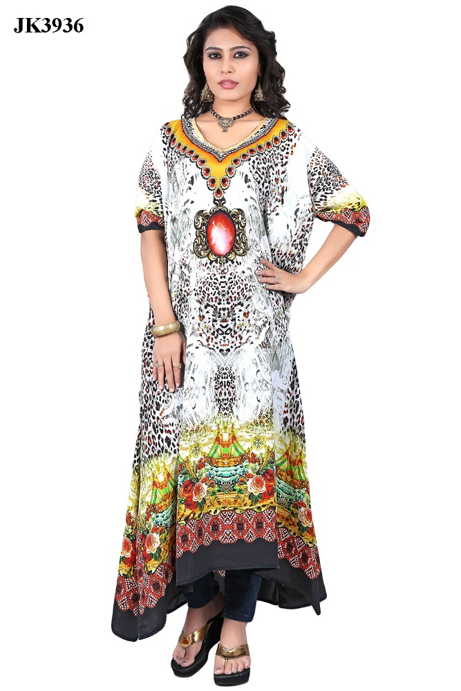 Amazing New Digital Printed Modern Kaftan For Women