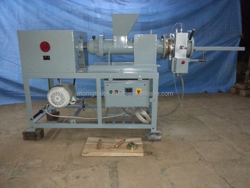Atom Brand Laundry Soap Plodder Machinery Manufacturer L-3A