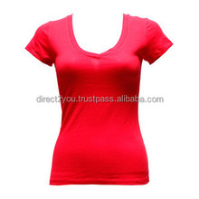 manufacturer custom t-shirt printing black plain design all full sexy picture tight s s type woman t shirt