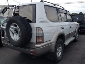 USED ACCIDENT CAR SALES RIGHT HAND DRIVE FOR TOYOTA LAND CRUISER PRADO KZJ95W