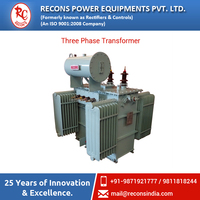 Continuous Three Phase 50HZ Transformer with Uni / Bi-Directional Cooling Radiators Available at Industry Price