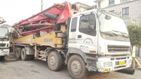 2016 XCMG SANY ISUZU used schwing concrete pump truck Good quality for sale