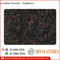 Indian Tan Brown Granite for Flooring, Cladding, Kitchen Counters