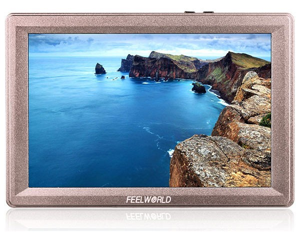 FEELWORLD 7 inch broadcast field monitor film jib with sdi hdmi 1920x1200 resolution IPS panel