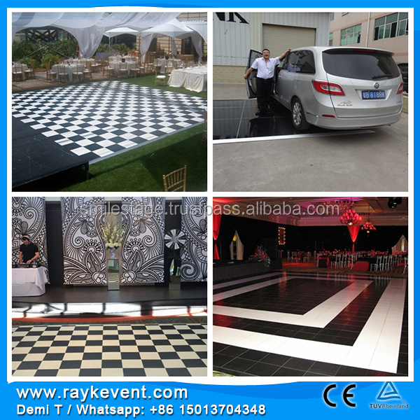 China dance floor/ mini portable stage lighting led/Dance floor tiles