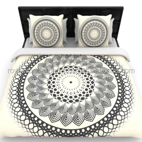 beautiful bed room bed sheet with bed sheet Dream House Decorative Living Room Black Double BedSheet