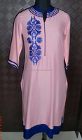 Exclusive Indian Ethnic Pure Viscose Designer Printed Casual Wear Kurti