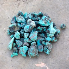 Turquoise stabilized