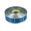 Water line Buried below Detectable Warning Tape