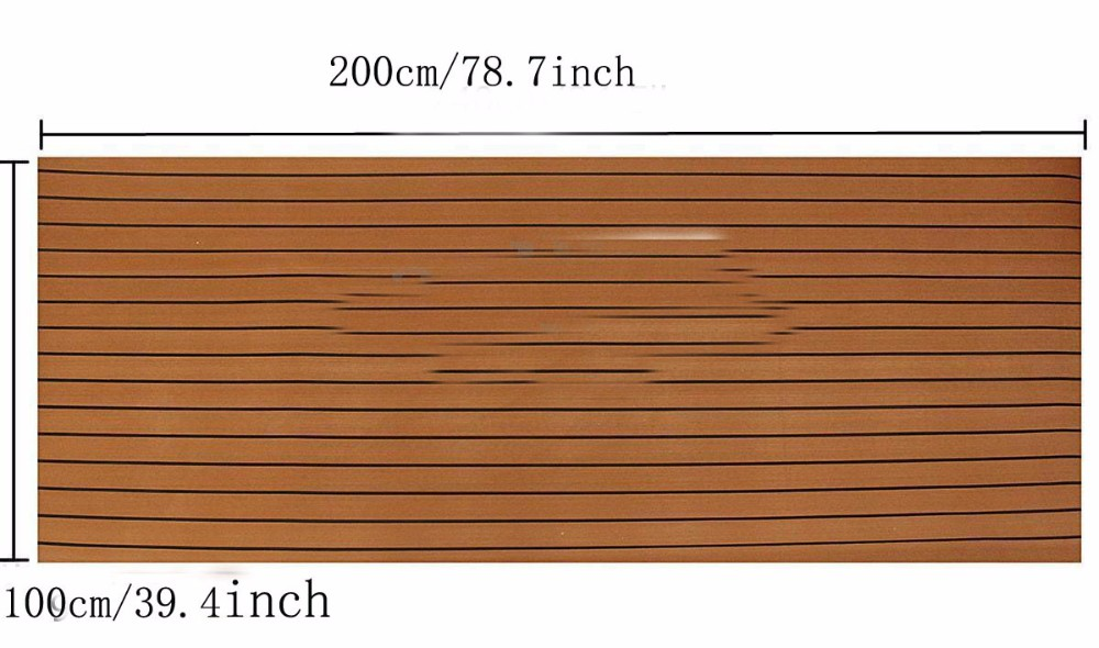 EVA foam Faux Teak Sheet Marine flooring boat yacht sails deck flooring decking Mat
