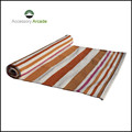 cotton handloom stripped yoga rugs for yogis,cotton washable rugs