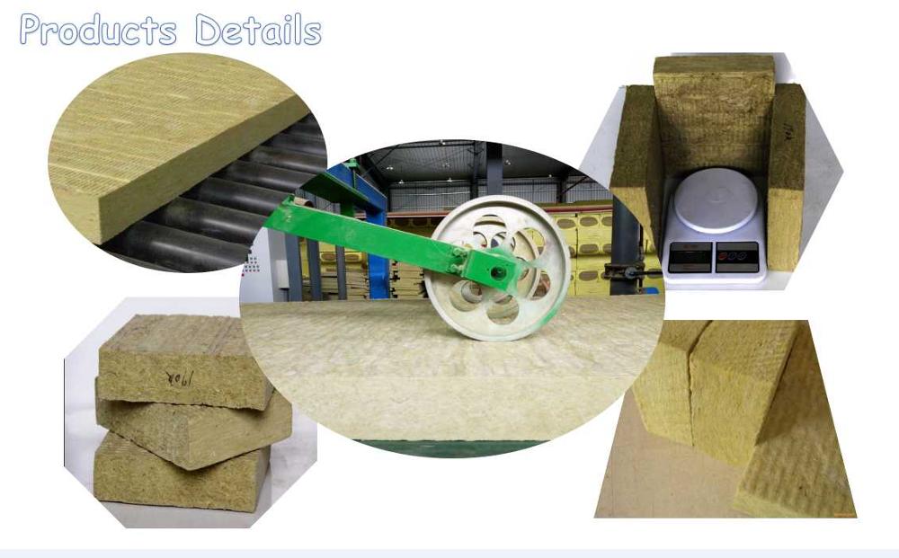 Best Price 900mm Width Fireproof Insulation Board Rockwool