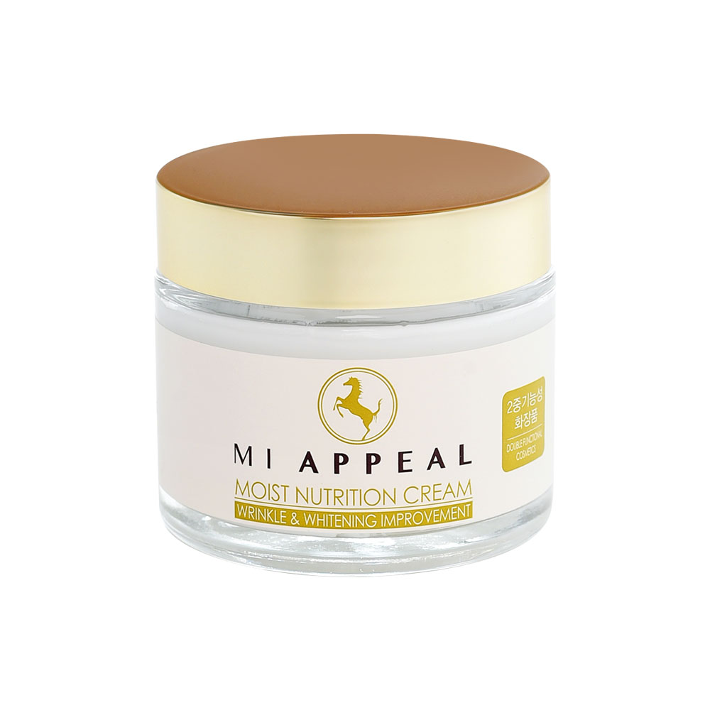 Moist Nutrition Cream 75g Korean Cosmetic Beauty Horse Oil Whitening Anti-wrinkle Hydration