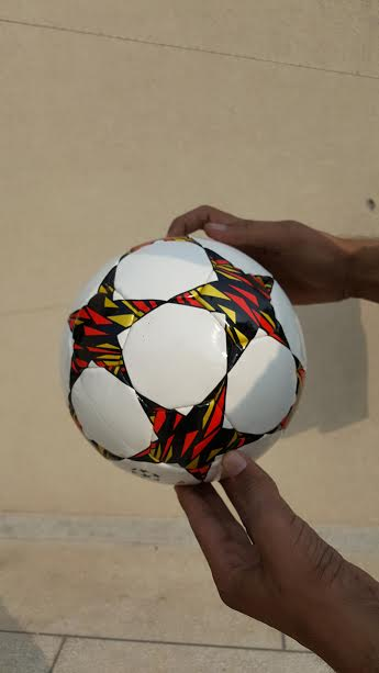Soccer ball five stars printing football Hand-stitching ball leather creative gift sporting products