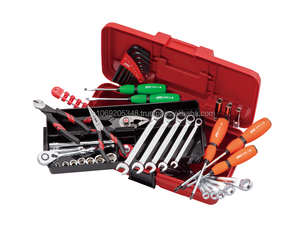 High quality, Made in Japan, Tool set / OPEN TOP PLASTIC HARD CASE type / (66pcs) / SK34010PS