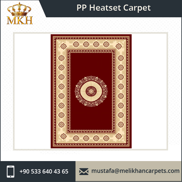 Wholesale Classical Design Turkish PP Heatset Machine Made Carpet