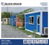 Quick Space Export Type Prefabricated Building Office Flat Pack Container