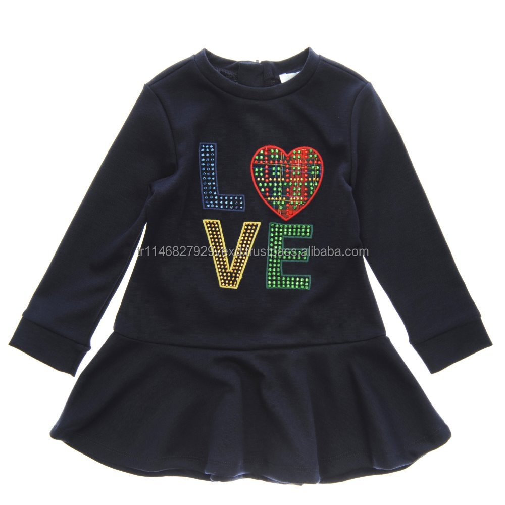 Baby clothes love picture for kids with cheap price