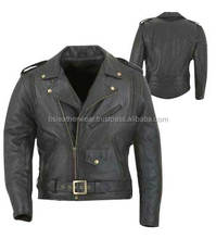 Racing Functions Leather Motorcycle Jacket's Brando