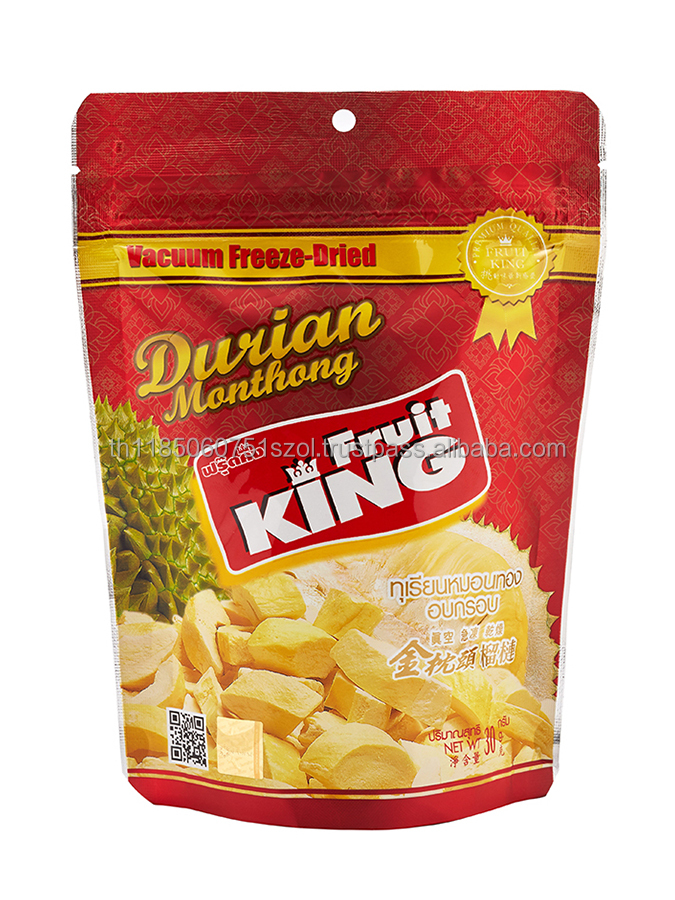 Freeze-Dried Monthong Durian