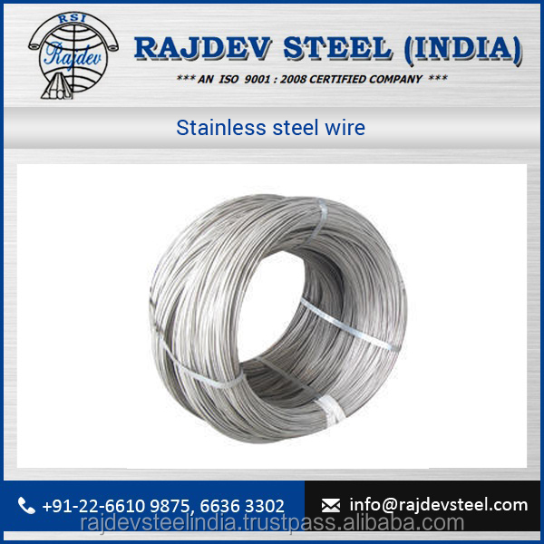 Durable Quality New Arrival Stainless Steel Wire for Automobile, Petroleum Industries use