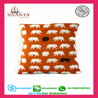 Factory directly provide Eco-friendly jacquard beautiful Sofa cushion cover + Nature Linen Fabric Cushion Cover