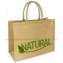 custom printed jute hessian bags direct from factory in India