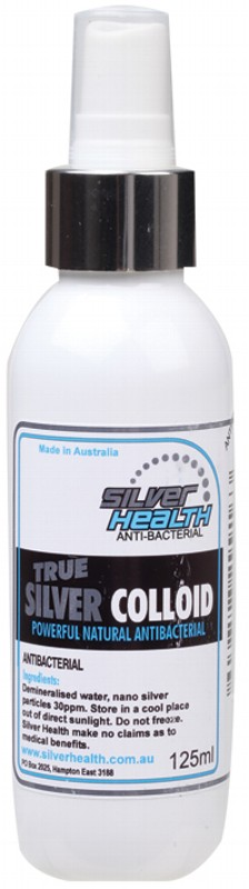 SILVER HEALTH Pure Silver Colloid Spray - 125ml