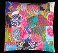 Wholesale Latest Designer jaipur Patchwork Stiched Floral Print Cotton kantha sofa Cushion Covers manufacturer India
