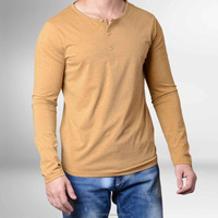 Full sleeves cotton jersey high quality t shirt for men