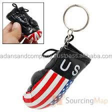 Custom Logo Design printed Mini Boxing Gloves Key Chain