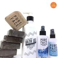 100% natural mineral water fragrance free and herbal soap, gel bath,liquid bath soap coffee tamarind curcuma thanaka scrub soap